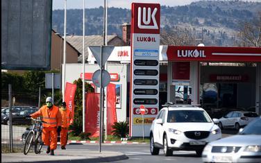 Sa jedne od benzinskih pumpi juče u Podgorici