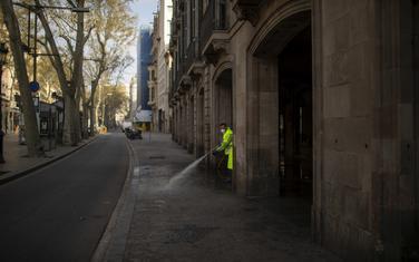 Detalj iz jedne od ulica u Barseloni