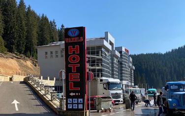 Hotel Wahels - objekat koji je određen za sprovođenje mjera karantina u Rožajama