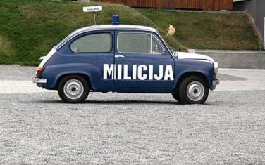 Automobil koji je u SFJ koristila milicija