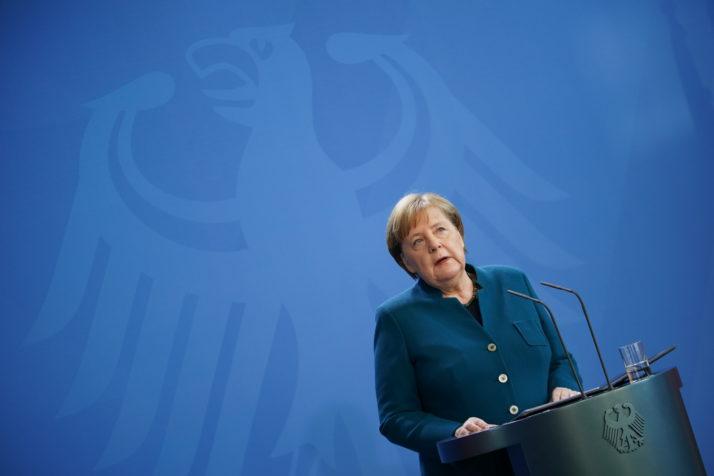 Njemačka kancelarka Angela Merkel je trenutno u karantinu