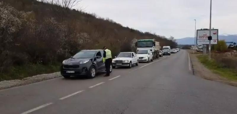 Detalj sa putnog pravca Podgorica - Danilovgrad