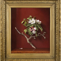 Martin Johnson Heade, 1868. ulje na platnu