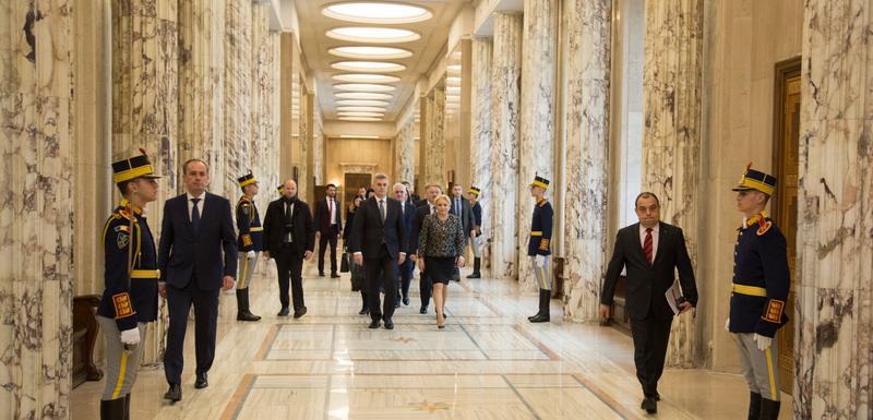 Brajović sa premijerkom Rumunije