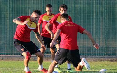 Sa treninga naše fudbalske selekcije