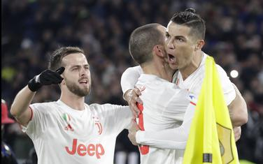 Ronaldo, Bonući i Pjanić