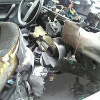 Vozilo Pešića u eksploziji potpuno havarisano