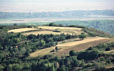 Pogled sa Stražilova na Frušku goru