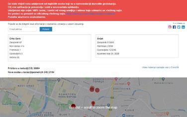 Jedna od aplikacija koja koristi Vladin spisak