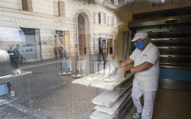 Detalj iz Rima u Italiji
