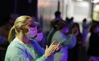 Medicinska radnica u Španiji (Ilustracija)