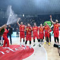 Slavlje košarkaša nakon plasmana na Eurobasket