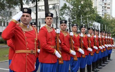 Pripadnici Vojske Crne Gore