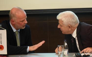 Najbolja ocjena do sada, dali i predloge za poboljšanja: Predsjednik Savjeta Kristof Šoen i premijer Duško Marković