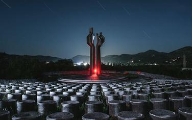 Spomenik poginulim borcima Lješanske Nahije, Barutana, Crna Gora