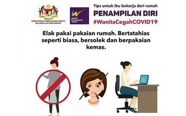 Iz uputstva malezijske vlade o ponašanju žena zbog pandemije
