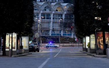 Policija u centru Podgorice