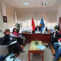 Detalj sa sastanka u Opštini Tivat