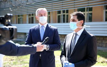 Ranko Lazović sa Milom Đukanovićem