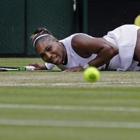 Serena Vilijams na londonskoj travi