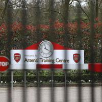 Katanac na trening kampu Arsenala