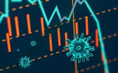Koronavirus ekonomija (Ilustracija)