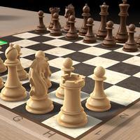 Šahovska tabla sa figurama (ilustracija)