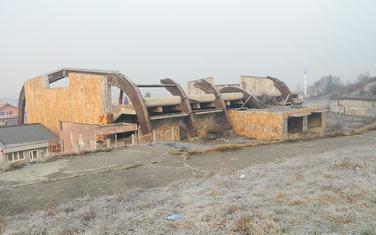 Stara sportska dvorana u Beranama