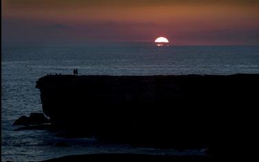 Zalazak sunca na Kanarskim ostrvima