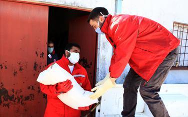 Volonteri nikšićkog Crvenog krsta u akciji
