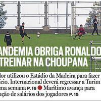 Ronaldo na terenu