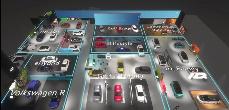 Virtuelna izložba Volkswagena