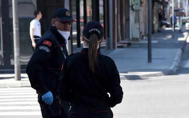 Pripadnici crnogorske policija