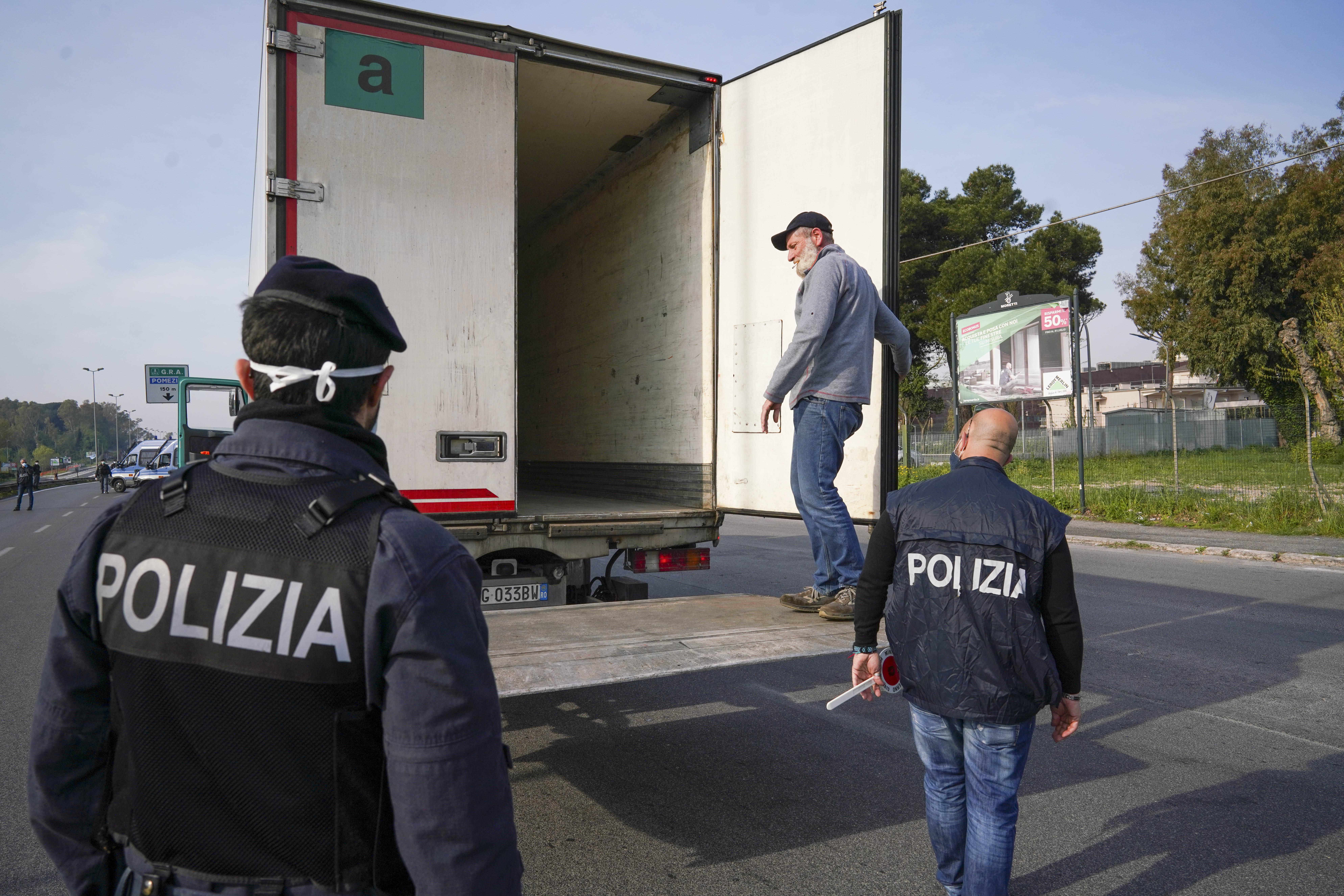 kamion kontrola italija