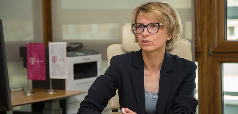 Dina Cibulskaja, izvršna direktorica Crnogorskog Telekoma