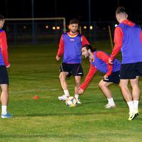 U ponedjeljak će se znati nešto više: Crnogorski fudbaleri na treningu