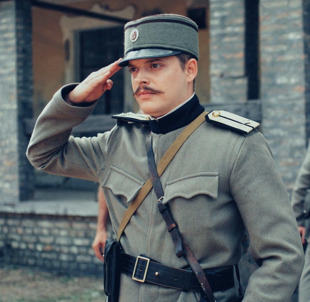 """Vuk Jovanović u filmu """"Zaspanka za vojnika"""""""