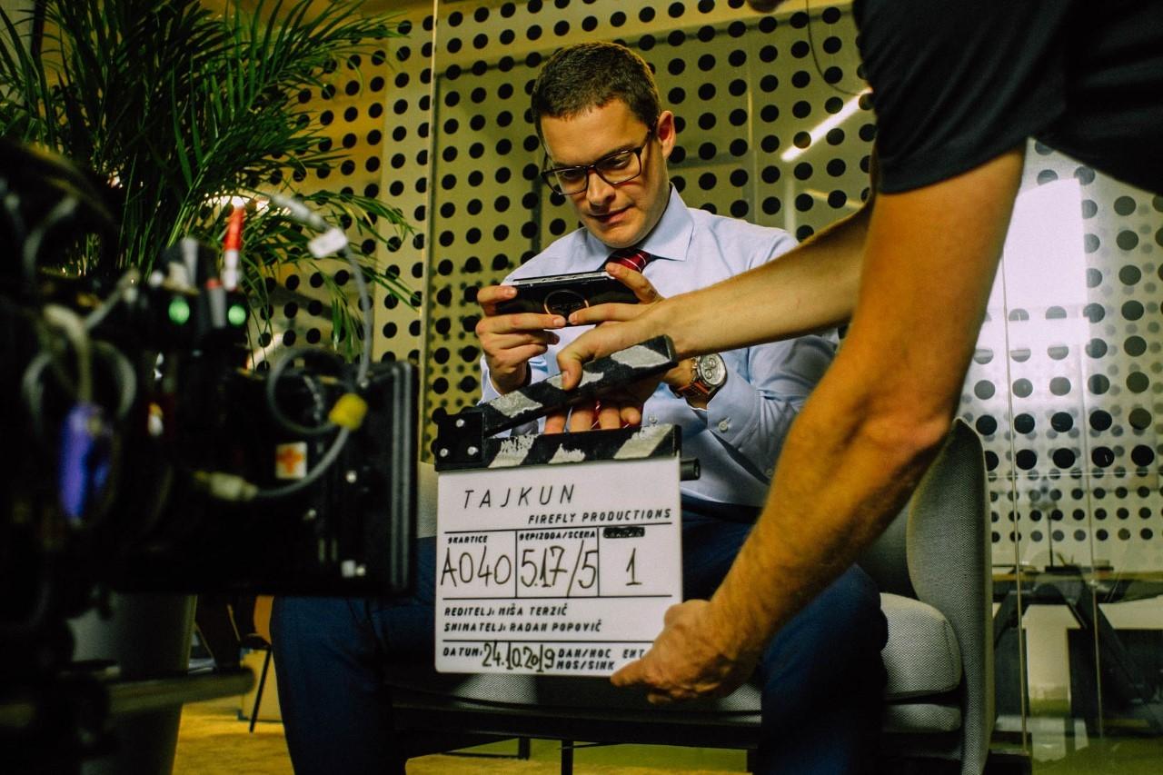 """Detalj scene iz filma """"Tajkun"""": Vuk Jovanović"""