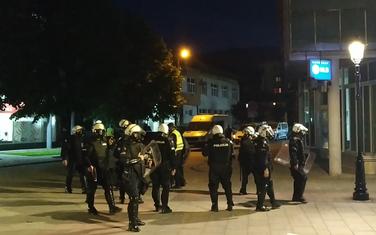 Službenici policije sinoć u Pljevljima