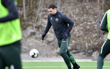 Ibrahimović je u vremenu pandemije trenirao u Hamarbiju