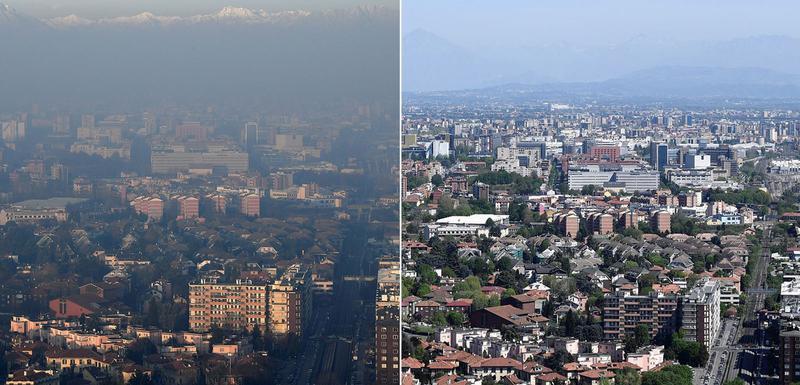 Milano prije i tokom korone