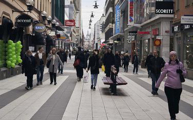Glavna pješačka ulica u Stokholomu