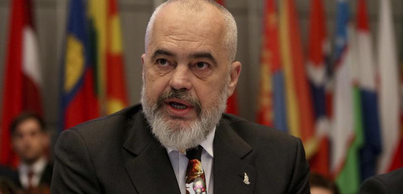 Albanski premijer, Edi Rama