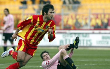 Mirko Vučinić u dresu Lećea 2006. godine
