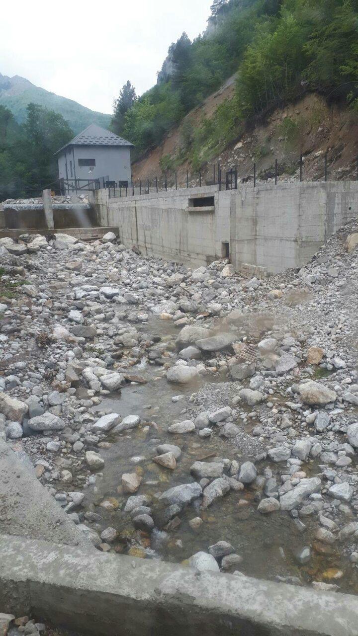 """Mini hidroelektrana """"popila"""" i Mojansku rijeku?"""