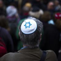 Sa jednog od protesta u Berlinu nakon antisemitskih napada