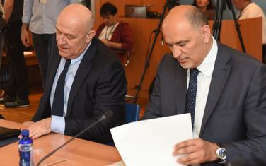 Mugoša i ministar finansija Darko Radunović