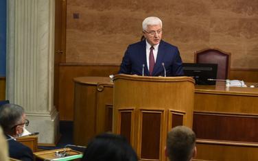 Marković u parlamentu